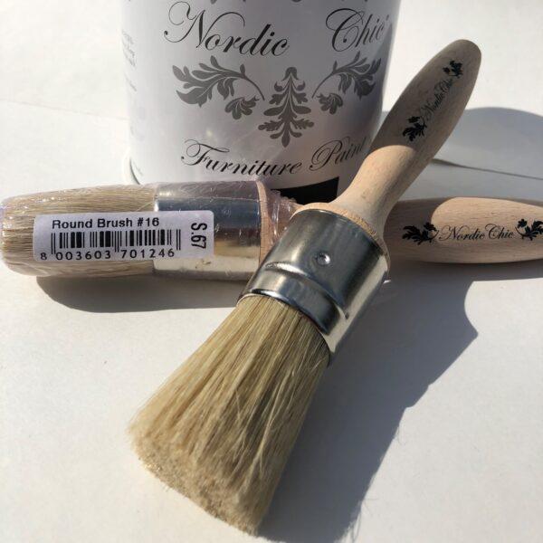 small wax brush 16